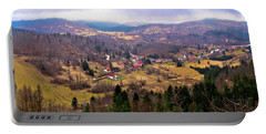 Lokve Valley In Gorski Kotar View Portable Battery Charger