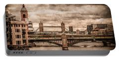 London, England - London Bridges Portable Battery Charger