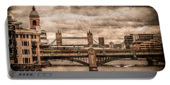 London, England - London Bridges Portable Battery Charger