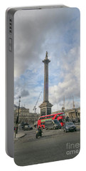 London Bus And Lord Nelson Portable Battery Charger