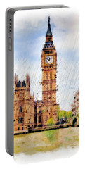 London Calling Portable Battery Charger by Marian Voicu