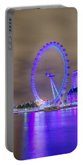 London Cityscape At Night 5x7 Portable Battery Charger