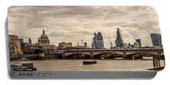 London Cityscape Portable Battery Charger