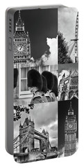 London Collage Bw Portable Battery Charger