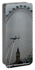 London Eye And Big Ben, London Portable Battery Charger