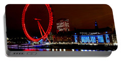 London Eye Portable Battery Charger by Heather Applegate