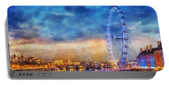 London Eye Portable Battery Charger by Ian Mitchell