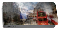 London In Rain Portable Battery Charger