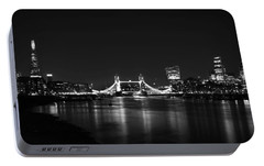 London Night View Portable Battery Charger by Mark Rogan
