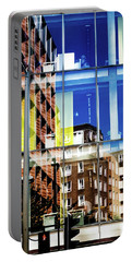London Southwark Architecture 2 Portable Battery Charger by Judi Saunders