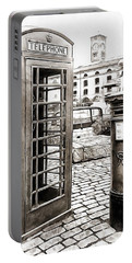 London Telephone Box And Post Box Portable Battery Charger