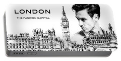 London The Fashion Capital Portable Battery Charger