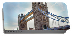 London - The Majestic Tower Bridge Portable Battery Charger by Hannes Cmarits