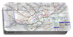 London Underground Map Portable Battery Charger