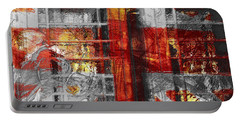 Portable Battery Charger featuring the digital art London's Calling  by Fine Art By Andrew David