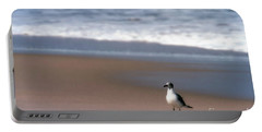 Lone Gull Portable Battery Charger by Nicki McManus