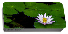 Lone Lily Portable Battery Charger by Ken Frischkorn