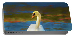 Lone Mute Swan. Portable Battery Charger