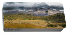 Portable Battery Charger featuring the photograph Lone Pine High Desert Nevada by Frank Wilson