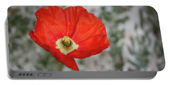 Lone Poppy Portable Battery Charger