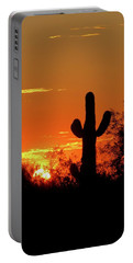Lone Saguaro Sunrise Portable Battery Charger