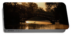 Lone Swan Up For Dawn Portable Battery Charger