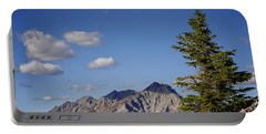 Lone Tree On Sanson Peak Portable Battery Charger by Mary Lee Dereske