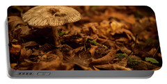 Lonely But Fungi Portable Battery Charger