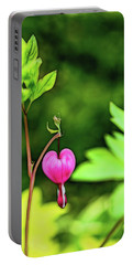Portable Battery Charger featuring the photograph Lonely Heart by Jessica Manelis