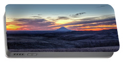 Lonely Mountain Sunrise Portable Battery Charger
