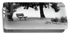 Lonely Park Bench Portable Battery Charger