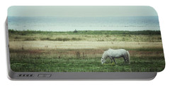 Lonely Pony Portable Battery Charger by Karen Stahlros