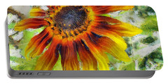 Lonely Sunflower Portable Battery Charger
