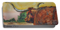 Lonesome Longhorn Portable Battery Charger