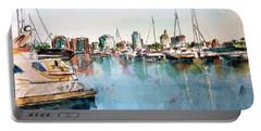 Long Beach Coastal View Portable Battery Charger