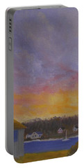 Long Cove Sunrise Portable Battery Charger