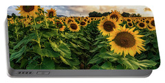 Long Island Sunflowers  Portable Battery Charger