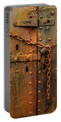 Long Locked Iron Door Portable Battery Charger
