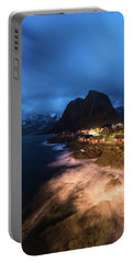 Portable Battery Charger featuring the photograph Long Nights by Alex Lapidus