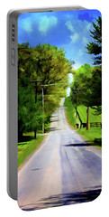 Long Road Ahead Portable Battery Charger