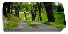 Long Road Portable Battery Charger by Mike Murdock