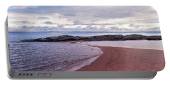 Long Rock In Lake Superior Portable Battery Charger