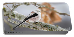 Long-tailed Tit Portable Battery Charger by Torbjorn Swenelius