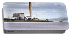 Portable Battery Charger featuring the photograph Longannet Power Station by Jeremy Lavender Photography