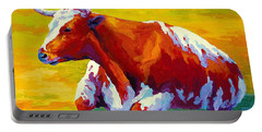 Longhorn Cow Portable Battery Charger