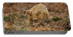 Longhorn On Dartmoor Portable Battery Charger