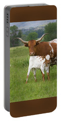 Longhorns Portable Battery Charger