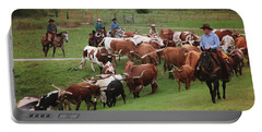 Longhorns On The Move Portable Battery Charger