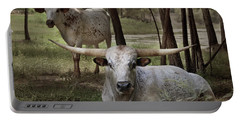 Longhorns On The Watch Portable Battery Charger