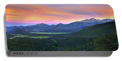 Longs Peak Sunset Portable Battery Charger